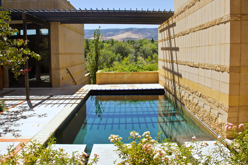 Custom pools reno lake tahoe carson city robert for Garden city pool 2015