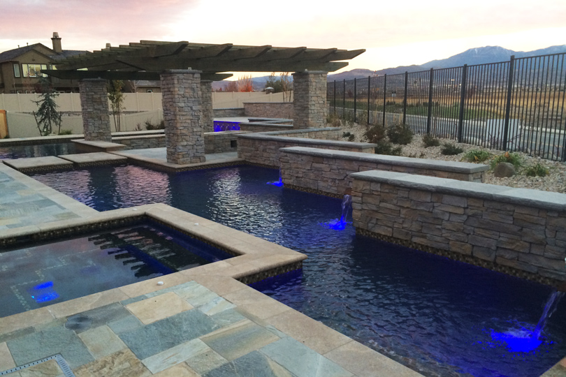 Contemporary Pool Design